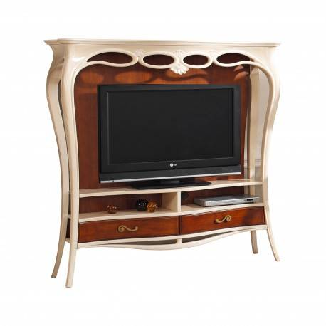 Mueble TV exclusive, color: cerezo