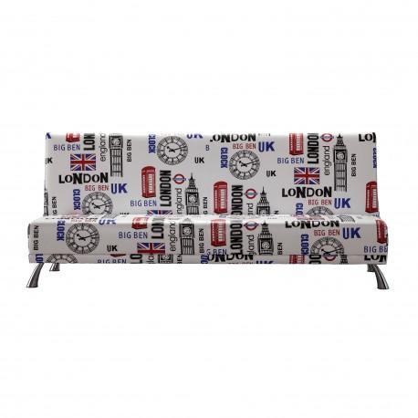 Sofá cama pop art, tapizado London