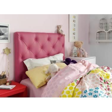 Cabezal juvenil moderno, color: rosa