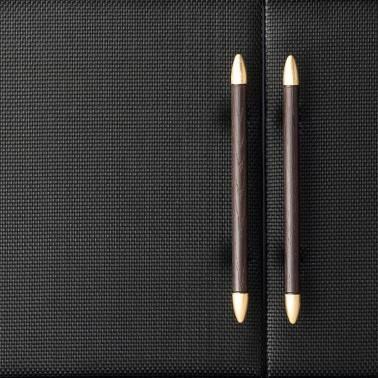 Aparador moderno, color: wengue-oro