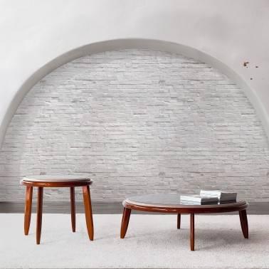 Mesa de centro retro, color: cerezo