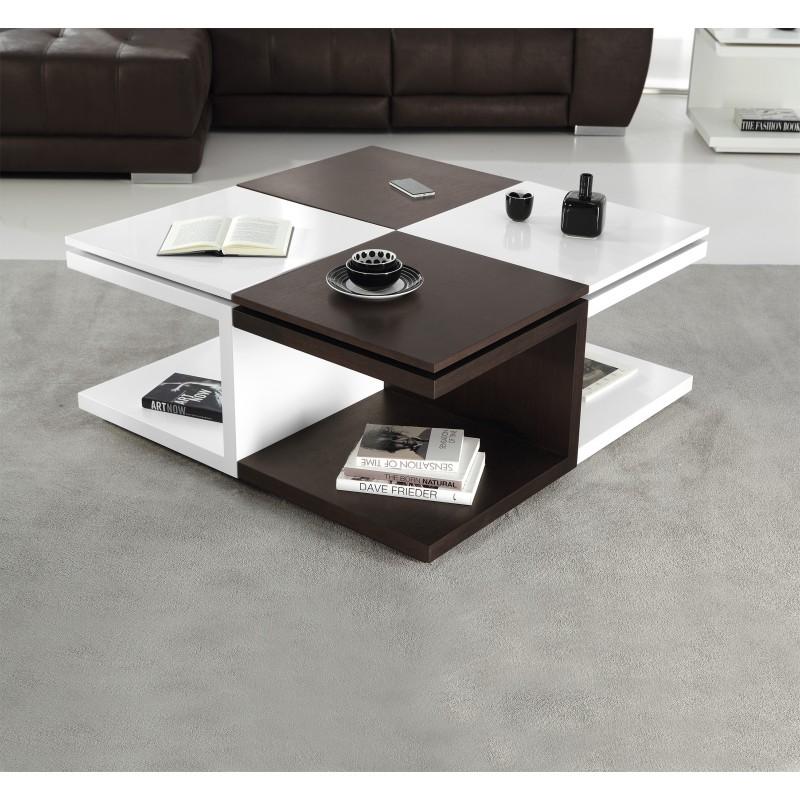 Mesa de centro rinc n elevable y extraible minimalista - Mesas de rincon ...