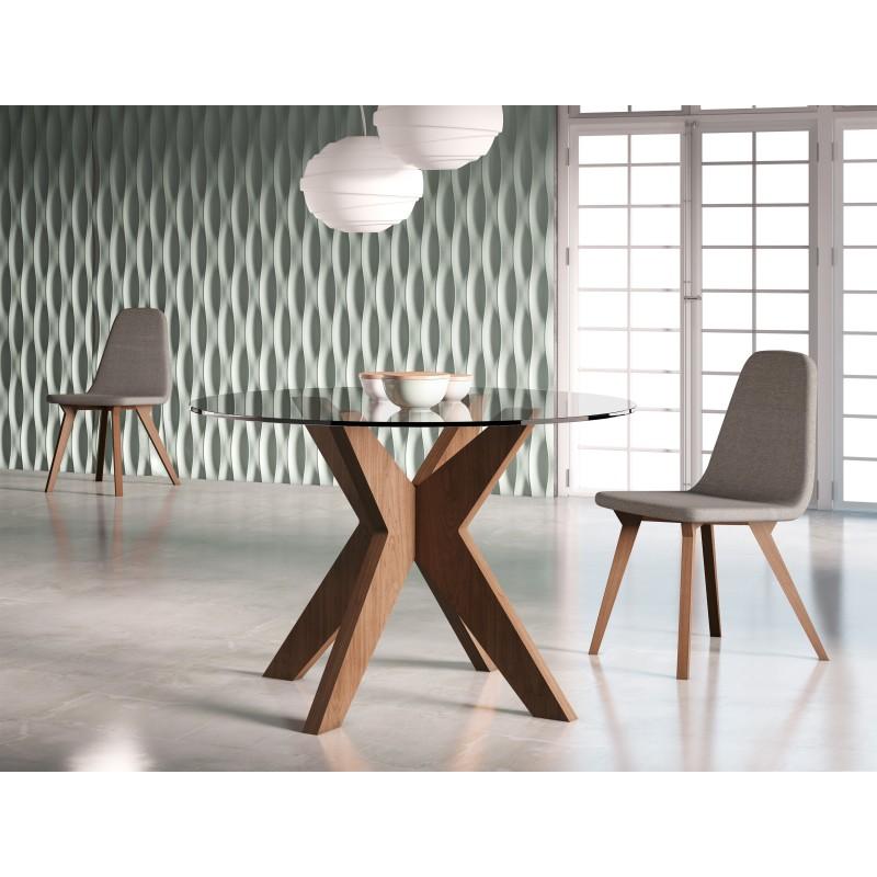 PACK OFERTA: Mesa de comedor moderna + 4 Sillas| Muambi
